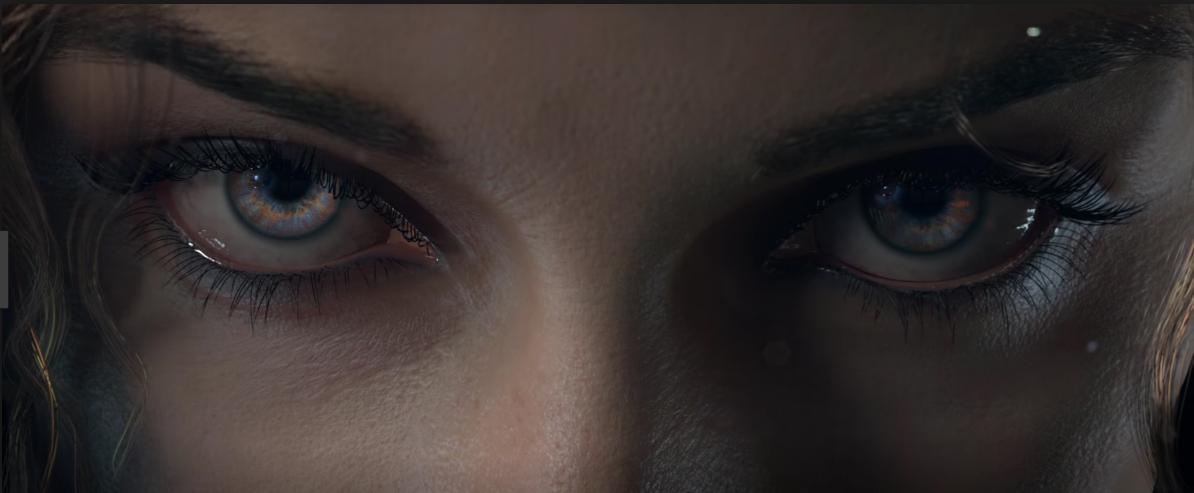 ojos de Yennefer