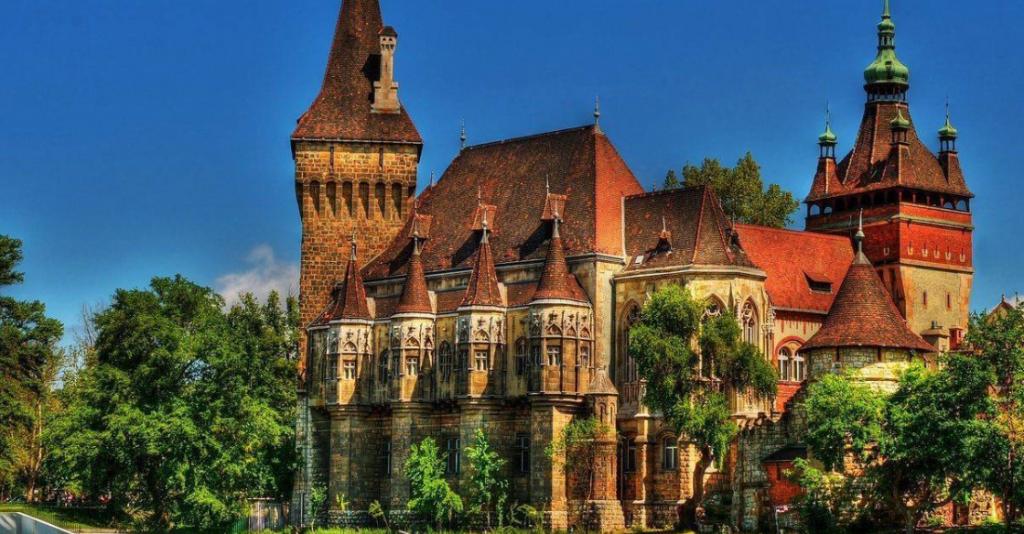 Castillo de Vajdahunyad, en Hungría