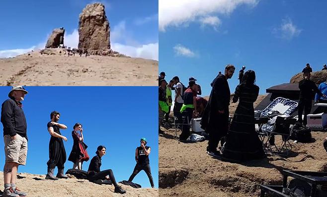 Filtraciones de la serie The Witcher. Exteriores en Gran Canarias.