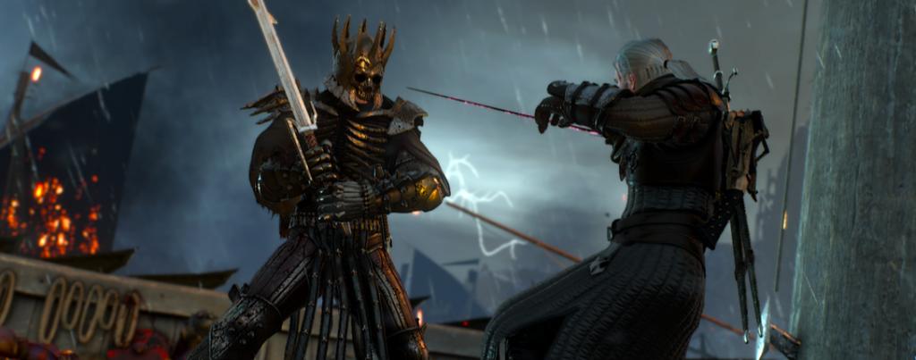 Geralt vs la cacería salvaje
