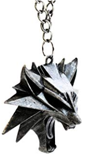 amuleto de la casa del lobo The Witcher