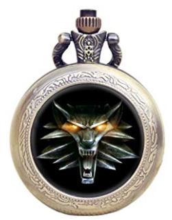 Reloj de la casa del lobo The Witcher