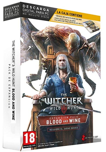 El videojuego de The Witcher 3 creado y distribuido por Cd projekt red