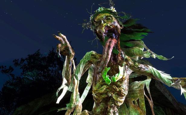 Dama de medianoche, espíritus en Ther Witcher 3