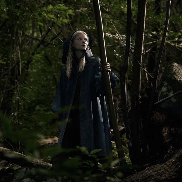 Ciri en la serie the witcher de netflix