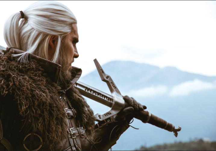 Geralt cosplay The Witcher 3