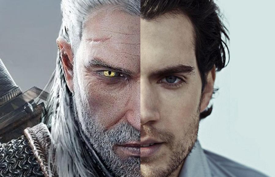 Henry Cavil Geralt de Rivia