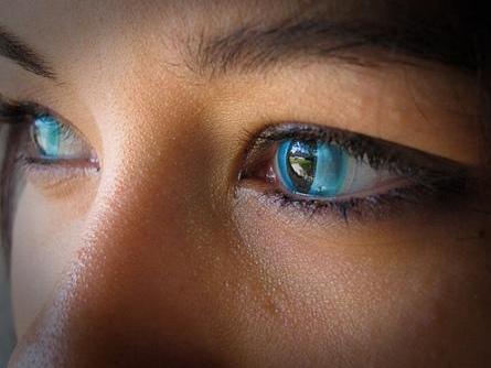 lentillas de colores ojos de gato