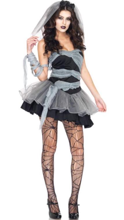 disfraz de zombie sexy Halloween
