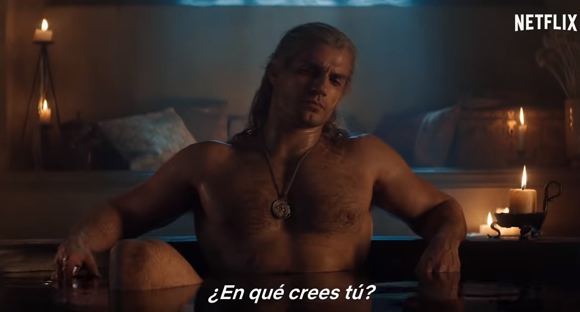 The Witcher de Netflix Sexualidad