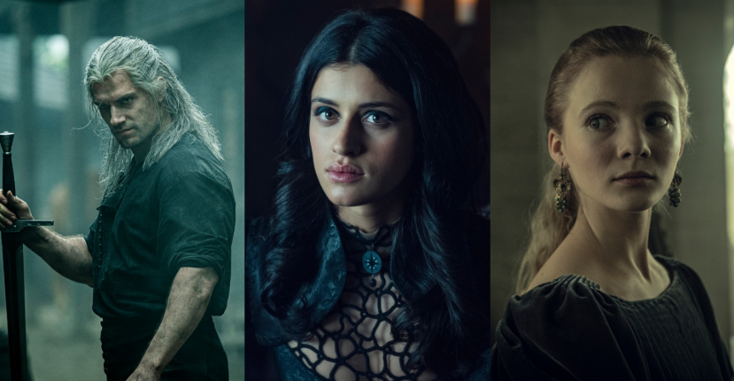 The Witcher Henry Cavill Anya Chalotra Freya Allan
