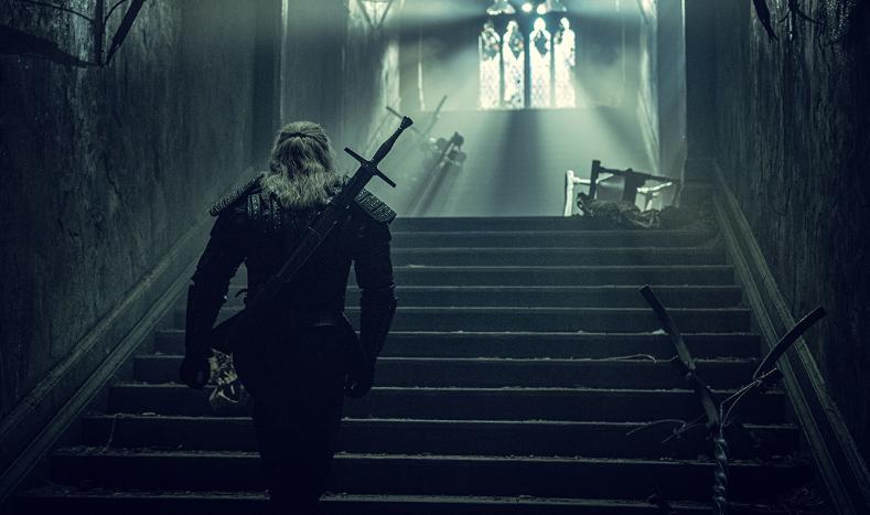 Enfrentamiento de Geralt y la strige en el tercer episodio de The Witcher de Netflix
