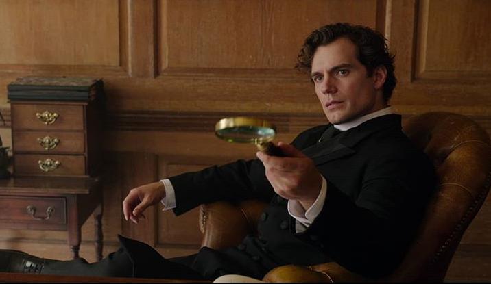 Henry Cavill Traje Sherlock Holmes